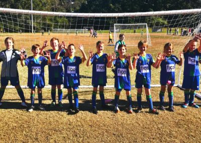 U10Bs after an emphatic 11-0 victory