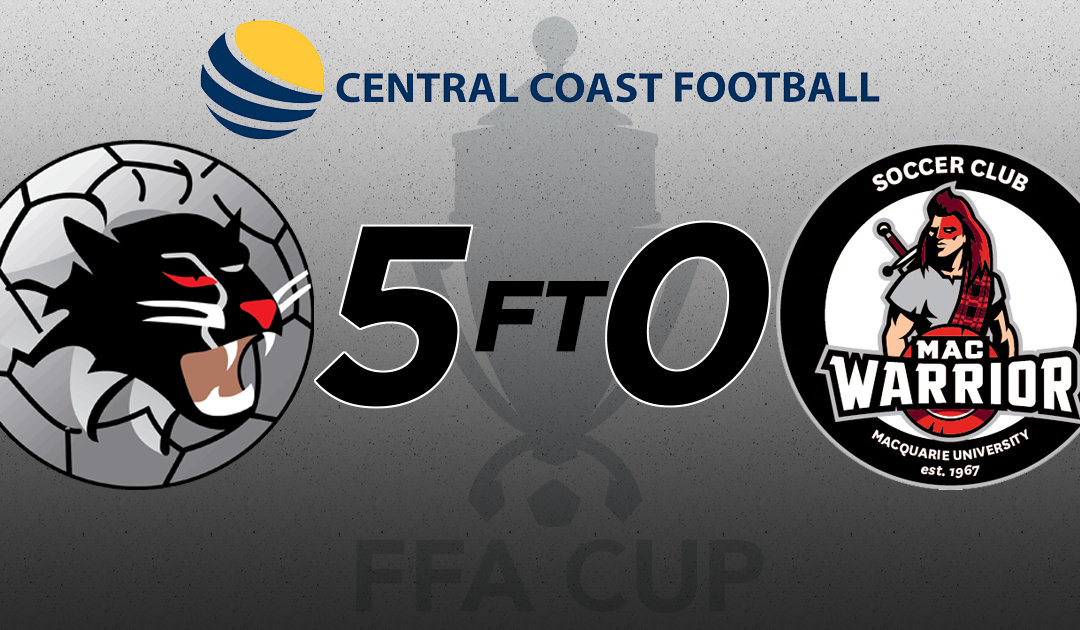 FFA Cup RD 2: Woongarrah FC vs Macquarie University