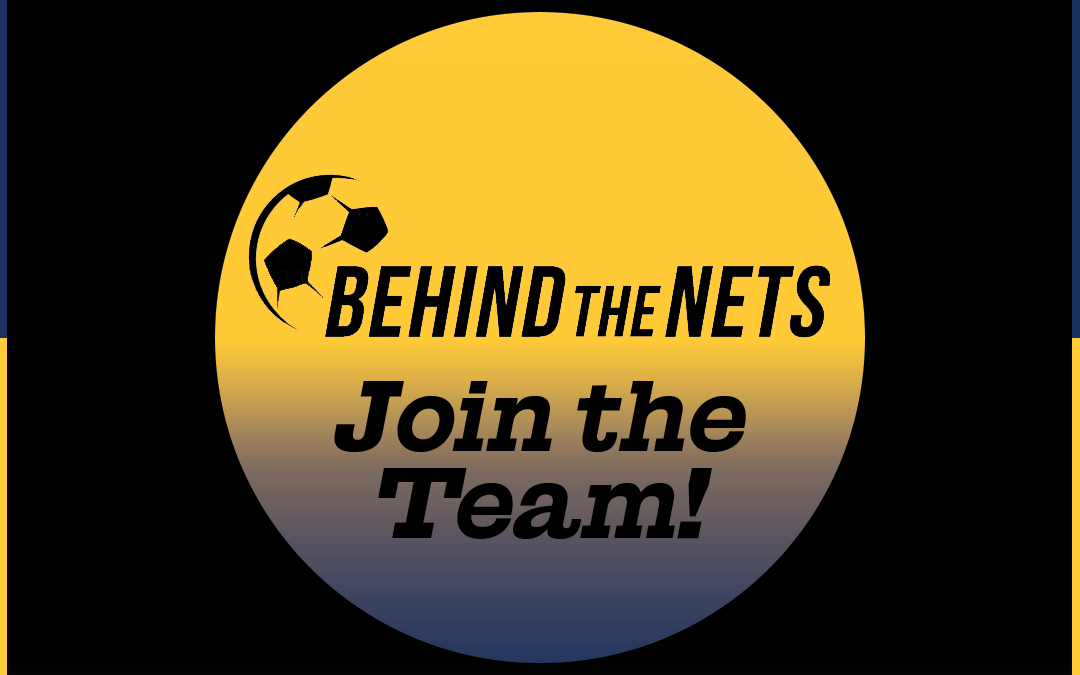 Join the Team! – Behind The Nets